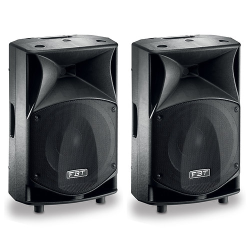 "2x FBT JMAXX 112A PROFESSIONAL 12"" 1800W POWERED PA SPEAKER OR MONITOR DJ BAND"