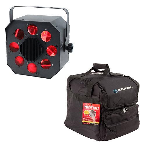 EQUINOX SHARD 60W RGBW LED MOONFLOWER LIGHT DJ DISCO CLUB BEAM LIGHTING DMX +BAG