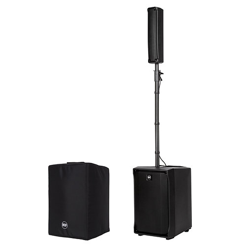 RCF EVOX J8 1400W POWERED COLUMN ARRAY SPEAKER + SUBWOOFER PA SYSTEM + COVER