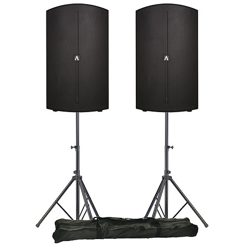 Avante A15 pair with stands