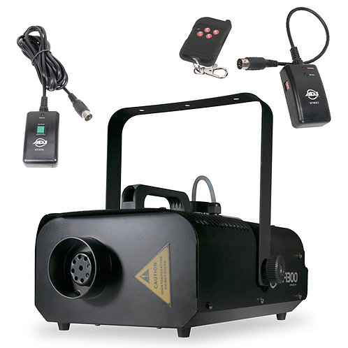 AMERICAN DJ ADJ VF1300 HIGH OUTPUT 1300W SMOKE FOG MACHINE + 2x REMOTE CONTROL
