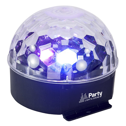 IBIZA LIGHT PLS PARTY-ASTRO6 MULTI-COLOUR DOME LIGHT DISCO PARTY BEAM LIGHTING