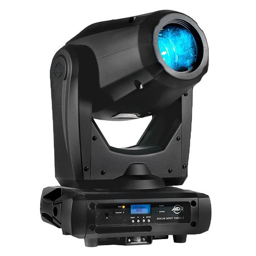 AMERICAN DJ ADJ FOCUS SPOT THREE Z 100W LED MOVING HEAD GOBO DJ DISCO CLUB LIGHT