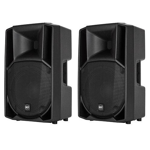 "2x RCF ART 715-A MK4 PRO 15"" 2800W POWERED ACTIVE PA SPEAKER DJ DISCO BAND CLUB"