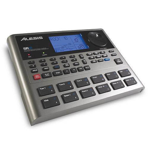ALESIS SR18 LIVE + STUDIO DIGITAL DRUM MACHINE WITH MIDI + PATTERNS + FX + BASS