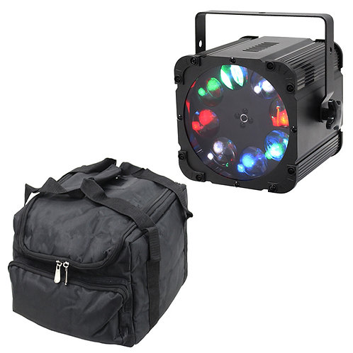 EQUINOX CROSSFIRE XP BRIGHT 80W RGBW LED GOBO LIGHT DJ DISCO CLUB LIGHTING + BAG
