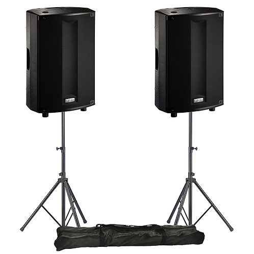 """FBT PROMAXX 112A PRO 12"""" 3600W POWERED ACTIVE PA SPEAKER DJ DISCO BAND + STANDS"""