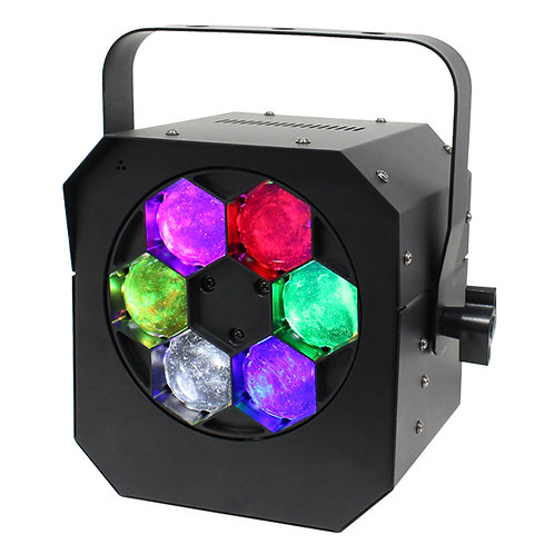 EQUINOX HYPNOS 90W RGBW LED HYPNOTIC FX PROJECTION LIGHT DJ DISCO PARTY HIRE