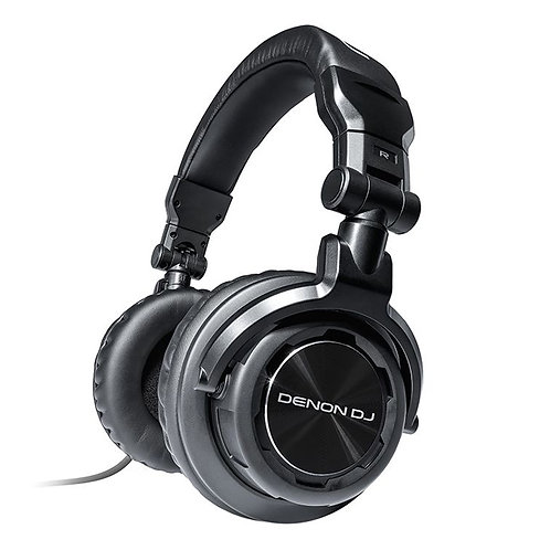 DENON HP800 PROFESSIONAL CLOSED BACK FOLDABLE HEADPHONES FOR LIVE DJ OR STUDIO