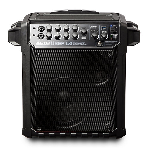 ALTO UBER FX BATTERY POWERED 100W PORTABLE PA SPEAKER SYSTEM + MIXER + BLUETOOTH