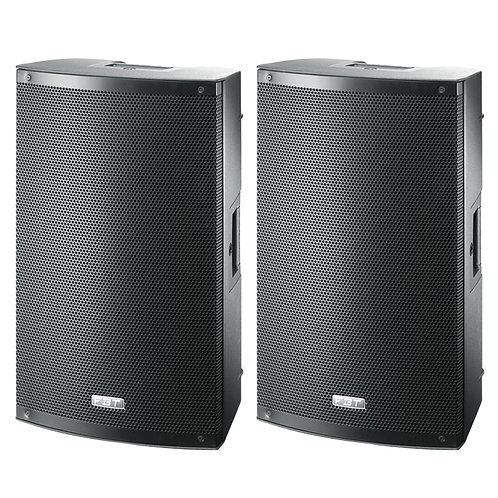 "2x FBT X-LITE 12A PROFESSIONAL 12"" 2000W POWERED PA SPEAKERS OR FLOOR MONITORS"