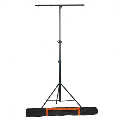 ATHLETIC LS-4 PROFESSIONAL T-BAR LIGHTING STAND FOR UP TO 8 LIGHTS DJ BAND + BAG