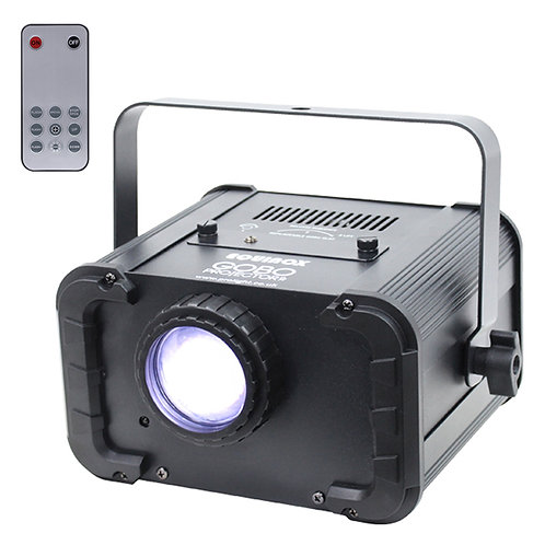 EQUINOX GOBO PROJECTOR XP 80W LED DJ DISCO WEDDING LIGHT + 11x REPLACEABLE GOBOS