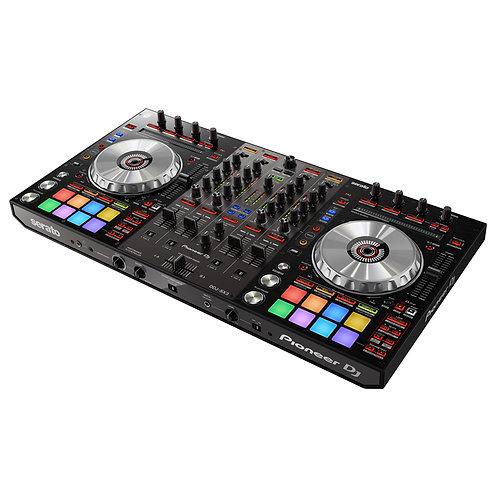 PIONEER DDJ-SX3 PROFESSIONAL 4 CHANNEL DJ CONTROLLER WITH SERATO DJ PRO SOFTWARE