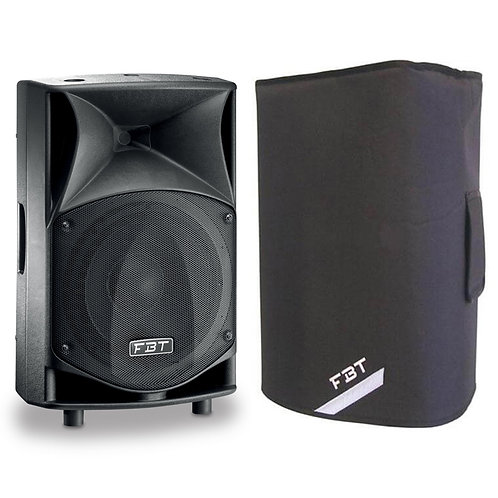 """FBT JMAXX 110A PROFESSIONAL 10"""" 900W RMS POWERED PA SPEAKER OR MONITOR + COVER"""