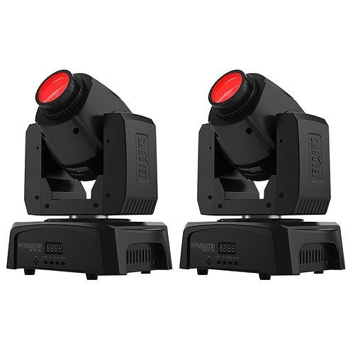 2x CHAUVET INTIMIDATOR SPOT 110 LED MOVING HEAD GOBO FX LIGHT DJ DISCO LIGHTING