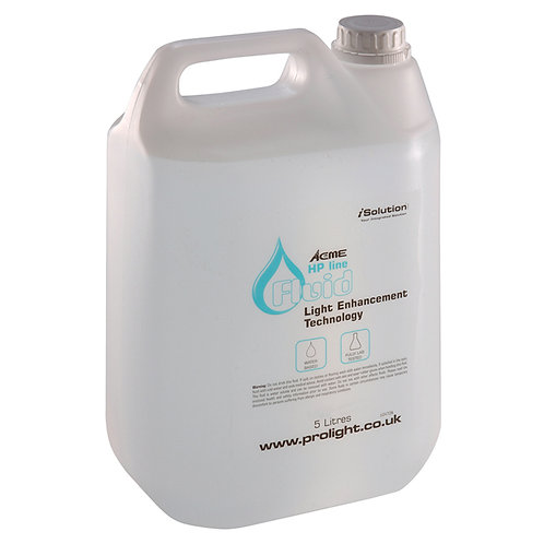 EQUINOX 5L HIGH QUALITY FLUID FOR BUBBLE MACHINE DJ DISCO PARTY - MADE IN UK