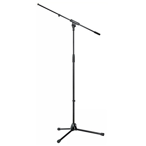 K&M KONIG AND MEYER PROFESSIONAL STEEL MICROPHONE STAND WITH MIC BOOM ARM