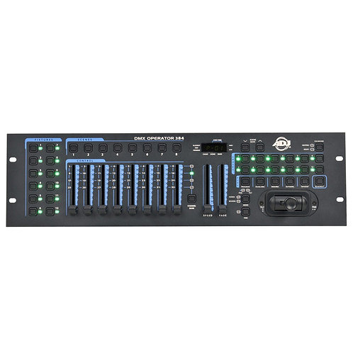 AMERICAN DJ ADJ DMX OPERATOR 384 384-CHANNEL DMX + MIDI LED LIGHTING CONTROLLER