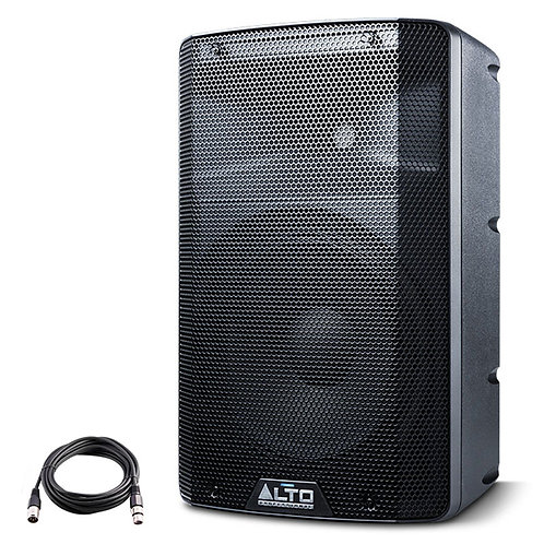 """ALTO TX210 10"""" 300W POWERED ACTIVE PA SPEAKER OR STAGE MONITOR DJ BAND +XLR LEAD"""