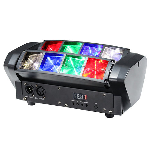 EQUINOX ONYX RGBW LED TWIN SWEEPING BEAM FX DJ DISCO BAND LIGHT DMX LIGHTING