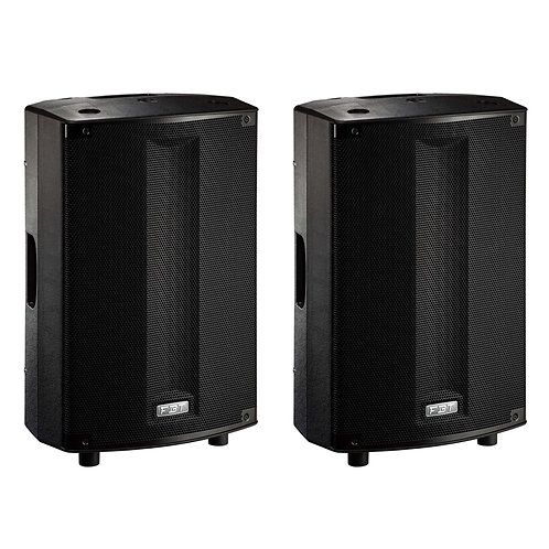 "2x FBT PROMAXX 110A PRO 10"" 3600W POWERED ACTIVE PA SPEAKER DJ DISCO BAND CLUB"