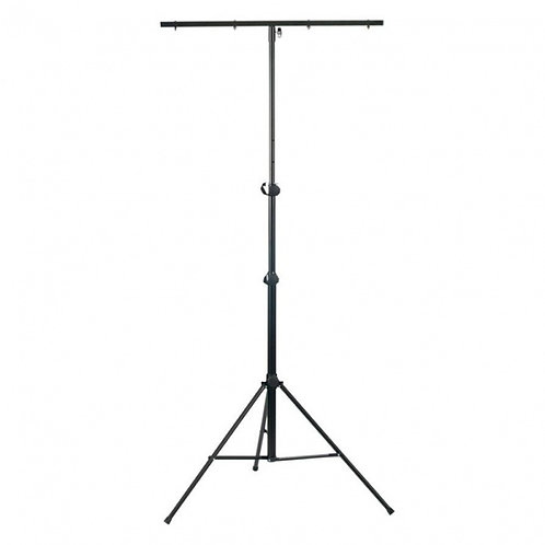 ATHLETIC LS-4 PROFESSIONAL T-BAR LIGHTING STAND FOR UP TO 8 LIGHTS DJ BAND