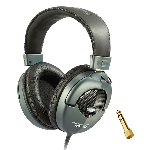 JTS HP-535 PROFESSIONAL SEMI CLOSED DYNAMIC STUDIO MONITORING HEADPHONES DJ BAND