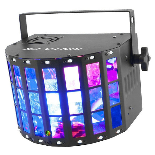 CHAUVET DJ KINTA FX MULTI-EFFECT LED DERBY STROBE LASER LIGHT DMX DISCO LIGHTING