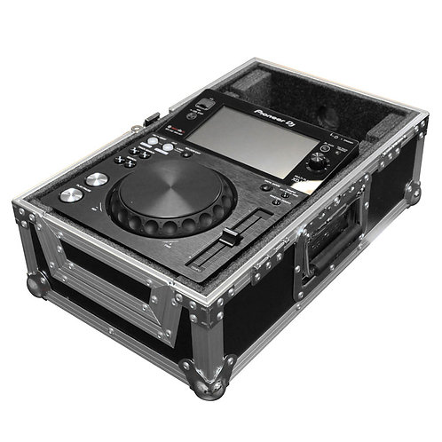 ODYSSEY FLIGHT READY CDJ DJ MEDIA PLAYER FLIGHT CASE FOR STANTON PLAYERS