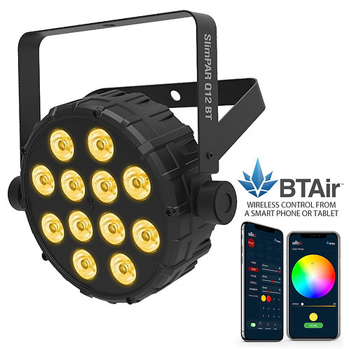 CHAUVET SLIMPAR Q12 BT 42W RGBA LED PAR CAN WASH LIGHT + WIRELESS LIGHTING APP