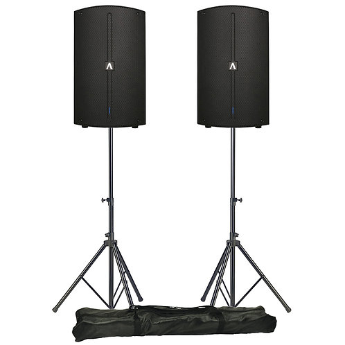 Avante A10 pair with stands