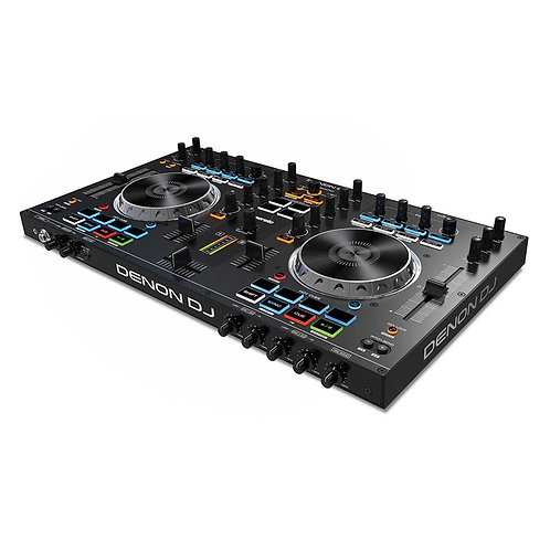 DENON MC4000 PROFESSIONAL 2 CHANNEL DJ CONTROLLER WITH SERATO DJ LITE SOFTWARE