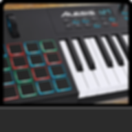 MIDI keyboards and controllers for sale from Alesis and Yamaha. All equipment is ideal for DJs, discos, bands, bars, clubs and events