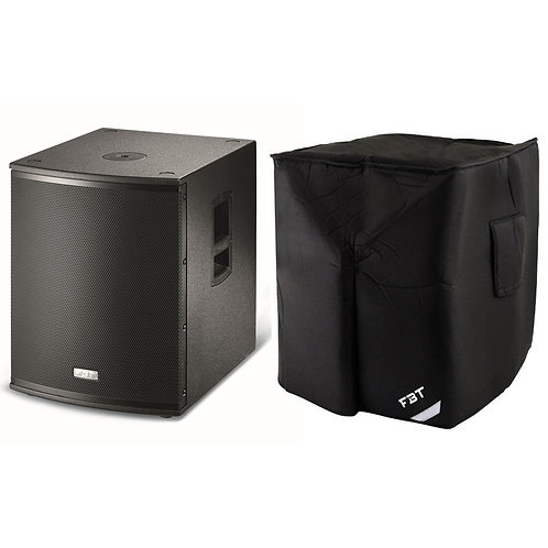 "FBT X-SUB 15SA 15"" 1200W ACTIVE POWERED PA SUBWOOFER BASS SPEAKER SUB + COVER"