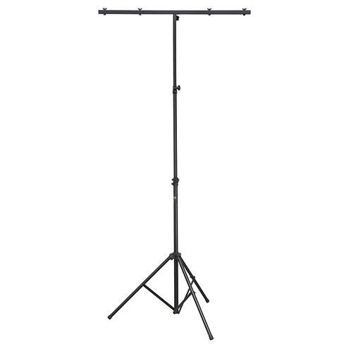 SOUNDSATION LS-100 SINGLE LIGHTWEIGHT PROFESSIONAL STEEL T-BAR LIGHTING STAND