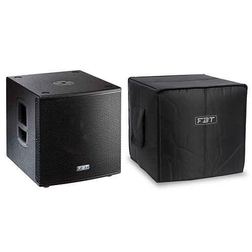 "FBT SUBLINE 112SA 12"" 1400W ACTIVE POWERED PA SUBWOOFER SUB BASS SPEAKER + COVER"