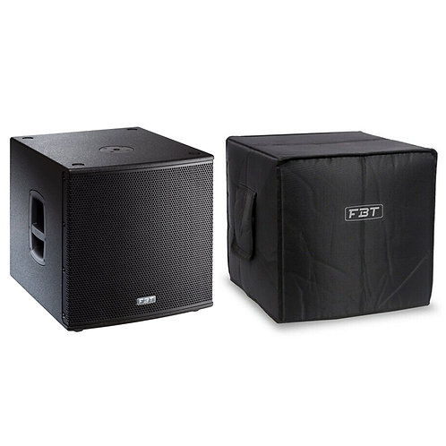 """FBT SUBLINE 115SA 15"""" 1400W ACTIVE POWERED PA SUBWOOFER SUB BASS SPEAKER + COVER"""