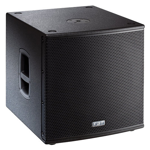 "FBT SUBLINE 115SA 15"" 1400W ACTIVE POWERED PA SUBWOOFER BASS SPEAKER SUB DJ BAND"