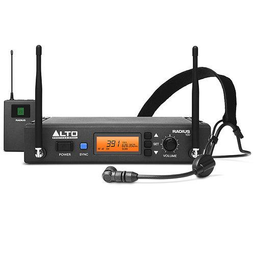 ALTO RADIUS 100H PRO UHF DIVERSITY WIRELESS HEADSET MICROPHONE SYSTEM HIRE