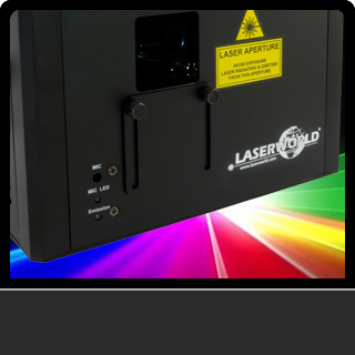 Lasers for sale from ADJ, Chauvet and Laserworld. All equipment is ideal for DJs, discos, bands, bars, clubs and events