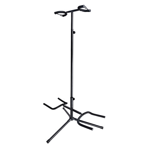 SOUNDSATION SGS-210 ADJUSTABLE STEEL DUAL ELECTRIC ACOUSTIC BASS GUITAR STAND