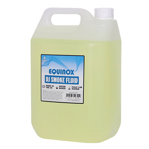 EQUINOX HIGH QUALITY 5L FLUID FOR SMOKE FOG MACHINES DJ BAND THEATRE MADE IN UK