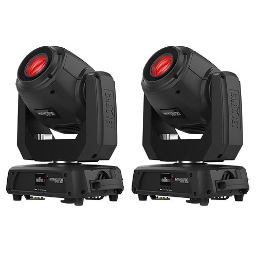 Pair of Chauvet Intimidator Spot 360 for sale