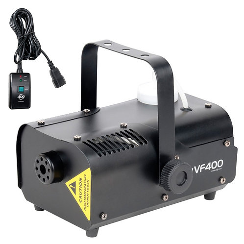 AMERICAN DJ ADJ VF400 COMPACT 400W SMOKE FOG MACHINE WITH WIRED REMOTE CONTROL