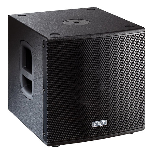 "FBT SUBLINE 112SA 12"" 1400W ACTIVE POWERED PA SUB SUBWOOFER BASS SPEAKER DJ BAND"
