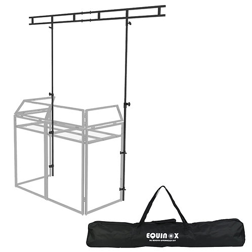 EQUINOX OVERHEAD KIT + CARRY BAG FOR ALUMINIUM DJ BOOTH SYSTEM MKI OR MKII
