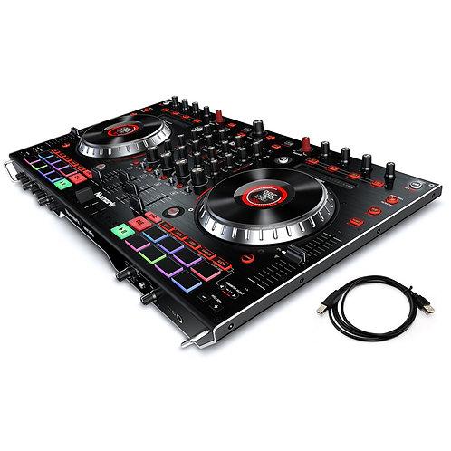 NUMARK NS6II 24-BIT DUAL USB 4-CHANNEL DJ CONTROLLER + SERATO DJ SOFTWARE