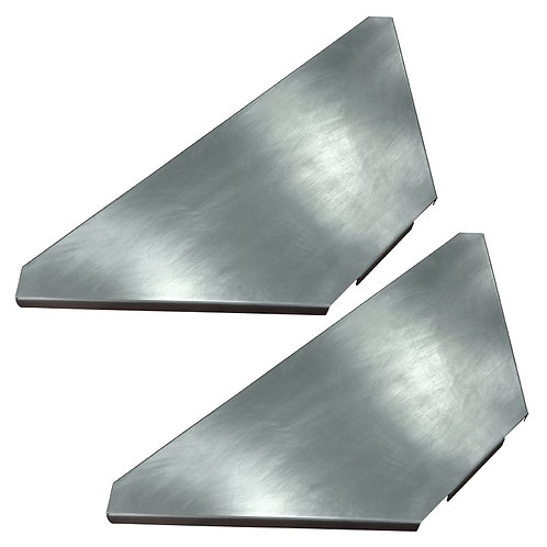 EQUINOX TRUSS BOOTH SHELF KIT - PAIR OF CORNER SHELVES FOR TRUSS BOOTH SYSTEM