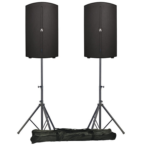 Avante A12 pair with stands
